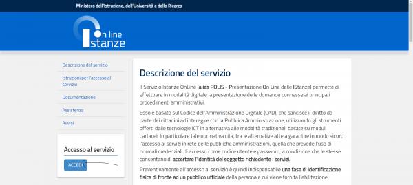 NotizieScuola.it - Istanze Online - Pagina Iniziale - Modello B
