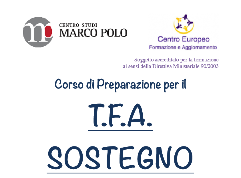 NotizieScuola.it - Corso TFA Sostegno